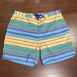 Brooks Brothers Pastel Preppy Board Summer Shorts